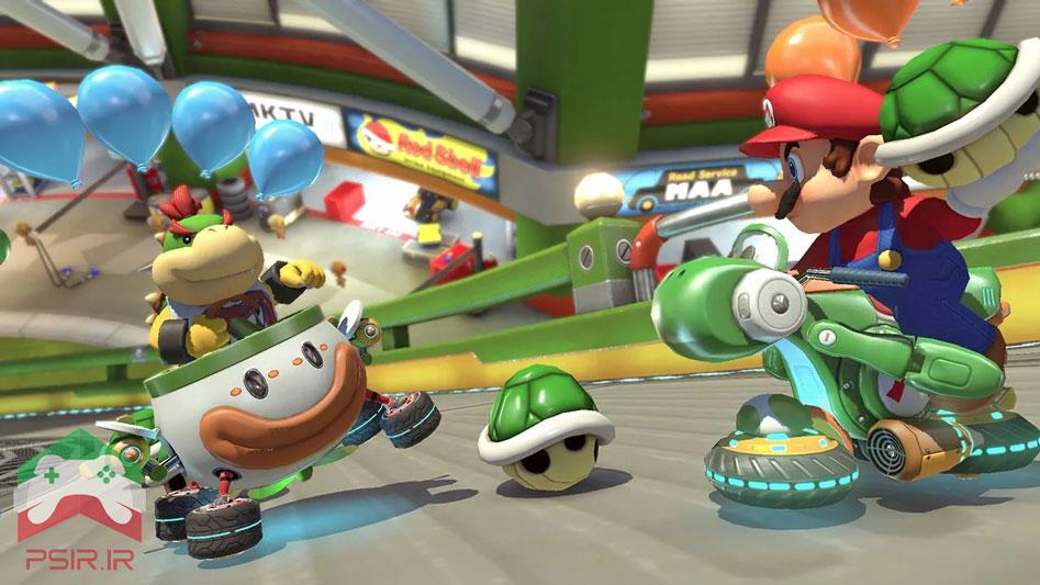 تصویر بازی نینتندو سوییچ MARIO KART 8 DELUXE