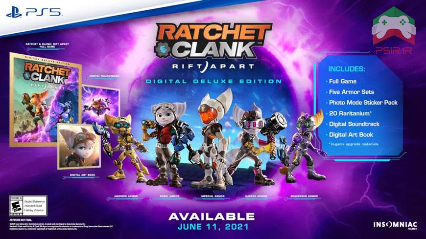 تاریخ انتشار بازی Ratchet & Clank: Rift Apart برای PS5