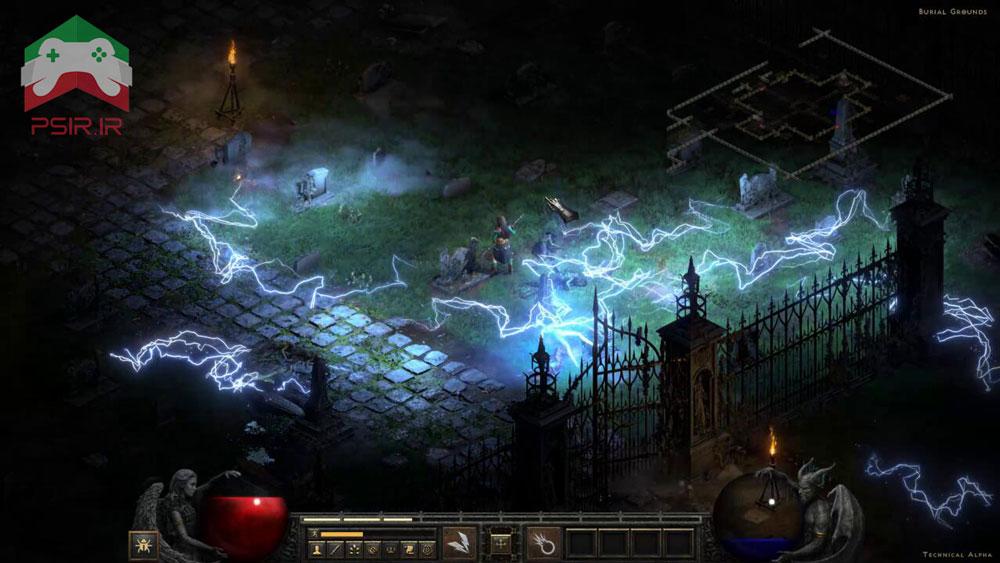 اسکرین شات از گیم پلی Diablo 2 Resurrected