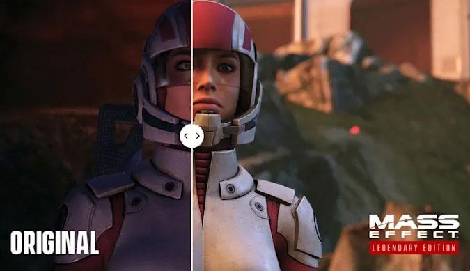 پیشرفت های گیم پلی برای اولین بازی Mass Effect: