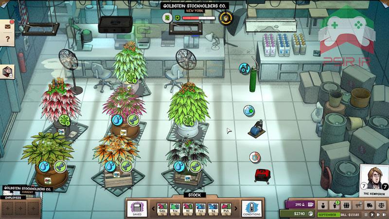 بازی Weedcraft Inc