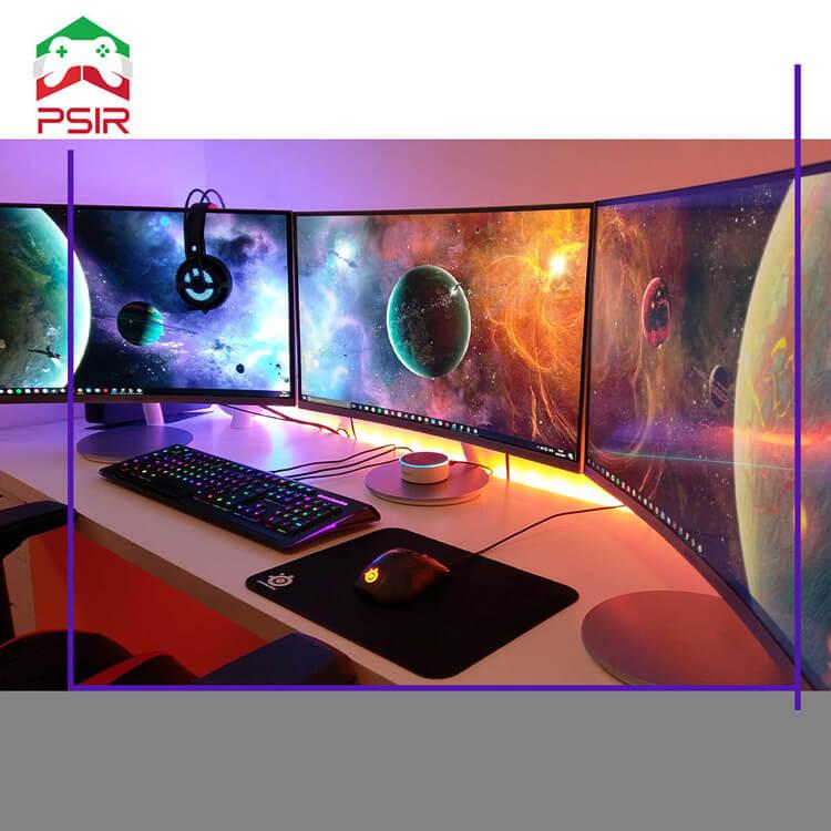 آموزش تنظیم نمایشگرهای دوگانه برای PC Gaming در سال 2021