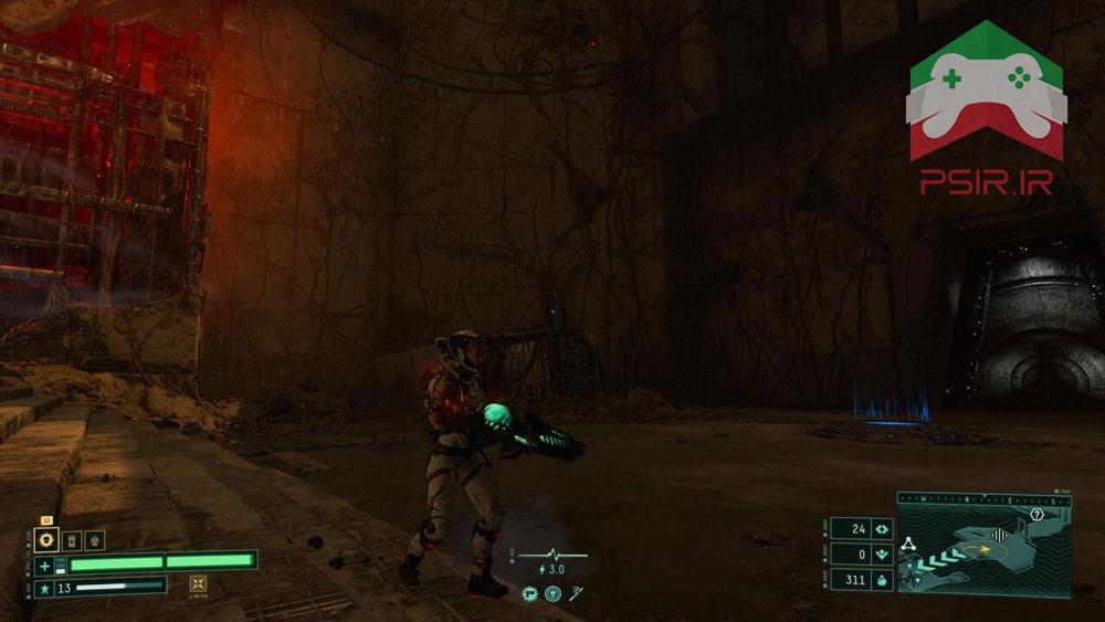 مینی نقشه در بازی Returnal