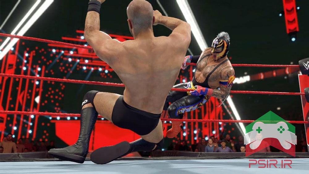 یک بازی WWE واقعی و زیبا