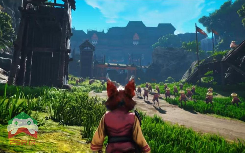 اسکرین شات از محیط گیم پلی بازی Biomutant + ویدئو گیم پلی در PS5