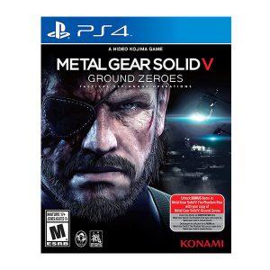 خرید بازی Metal Gear Solid V: Ground Zeroes برای PS4 - آکبند