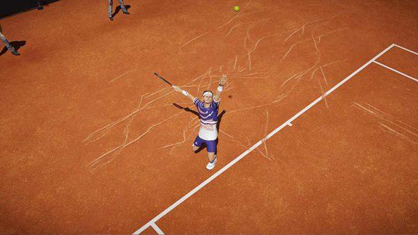 اسکرین شات از محیط بازی Tennis World Tour 2 برای PS5