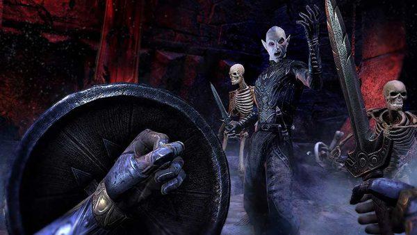 محیط بازی The Elder Scrolls Online برای PS4 - آکبند
