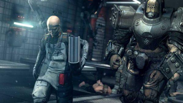 خرید بازی Wolfenstein: The New Order برای PS4 - آکبند