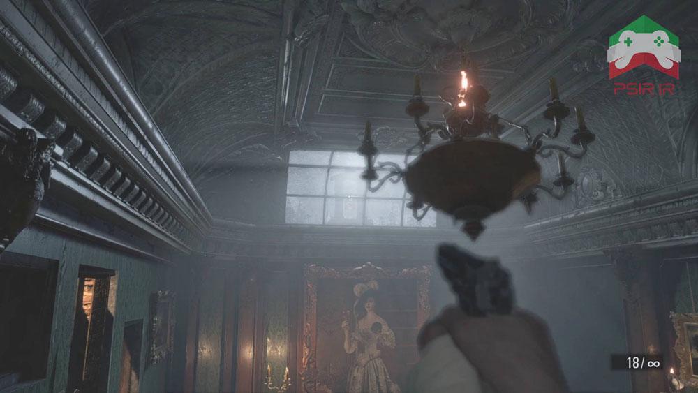 تصویر گیم پلی بازی Resident Evil Village | خاموش کردن هدف!