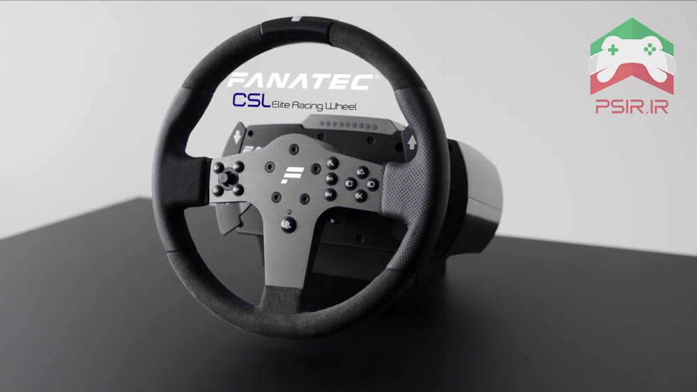 فرمان بازی پلی استیشن 5: Fanatec CSL Elite Racing Wheel