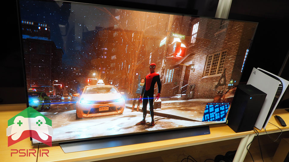 تلویزیون مدل LG OLED55CX مناسب گیمینگ | PS5, Xbox