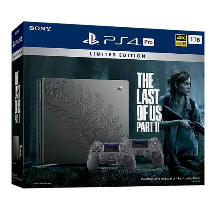 پلی استیشن 4 باندل The Last of Us دو دسته استوک