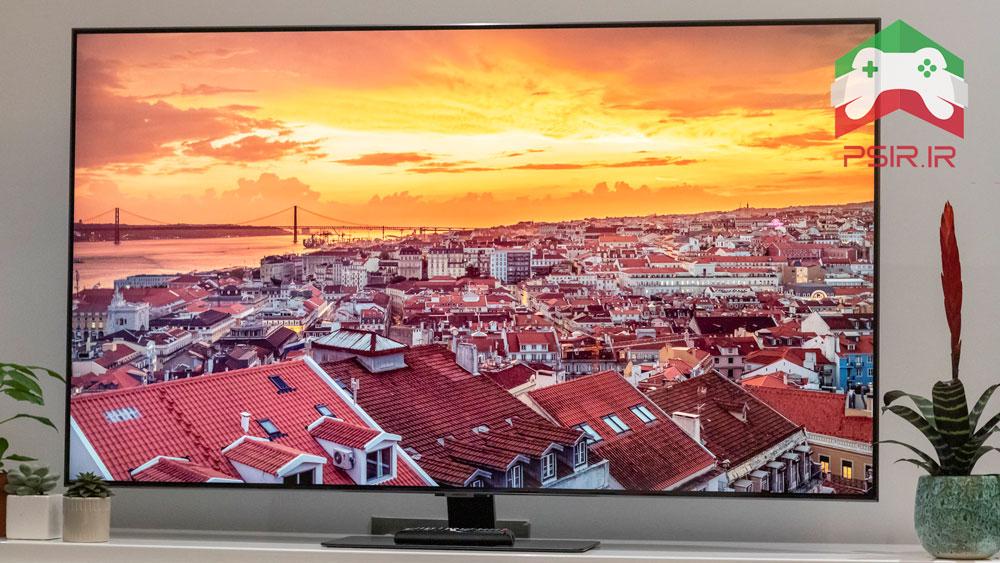 تلویزیون سامسونگ برای گیمینگ مدل Samsung QE55Q80T