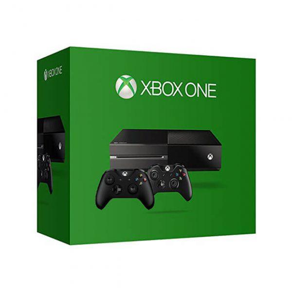 Xbox One هارد 500 گیگ دو دسته استوک