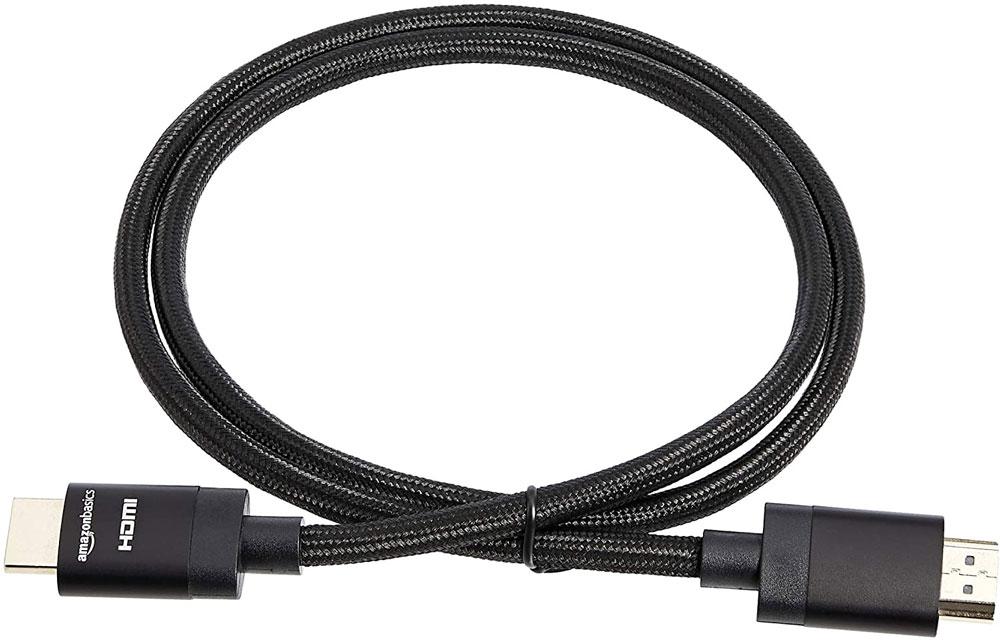 کابل اچ دی ام آی مدل AmazonBasics Premium-Certified Braided Cable