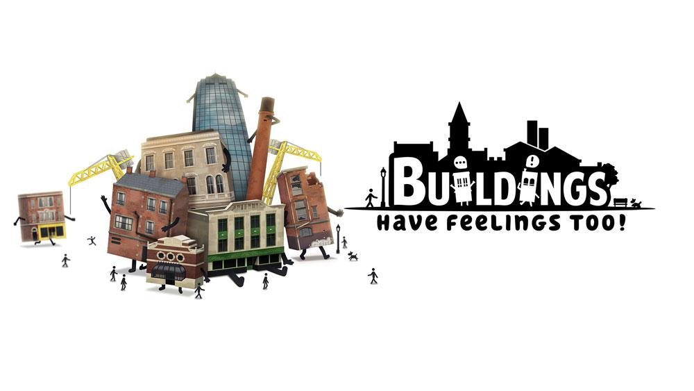 بازی Buildings Have Feelings Too