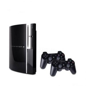 PS3 FAT حافظه 160 گیگابایت دو دسته - استوک