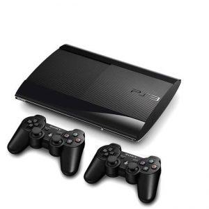 PS3 SUPER SLIM حافظه 500 گیگابایت دو دسته - استوک