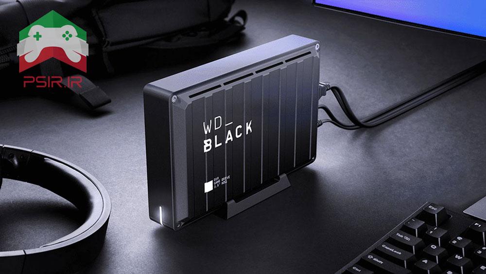 هارد اکسترنال Western Digital Black برای بازی های قدیمی Xbox