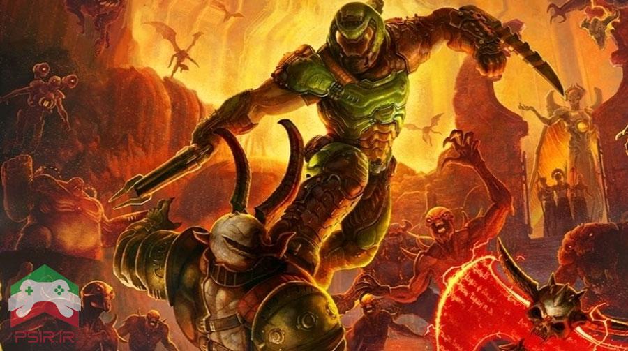 حالت های گرافیکی آپدیت جدید Doom Eternal در کنسول ها