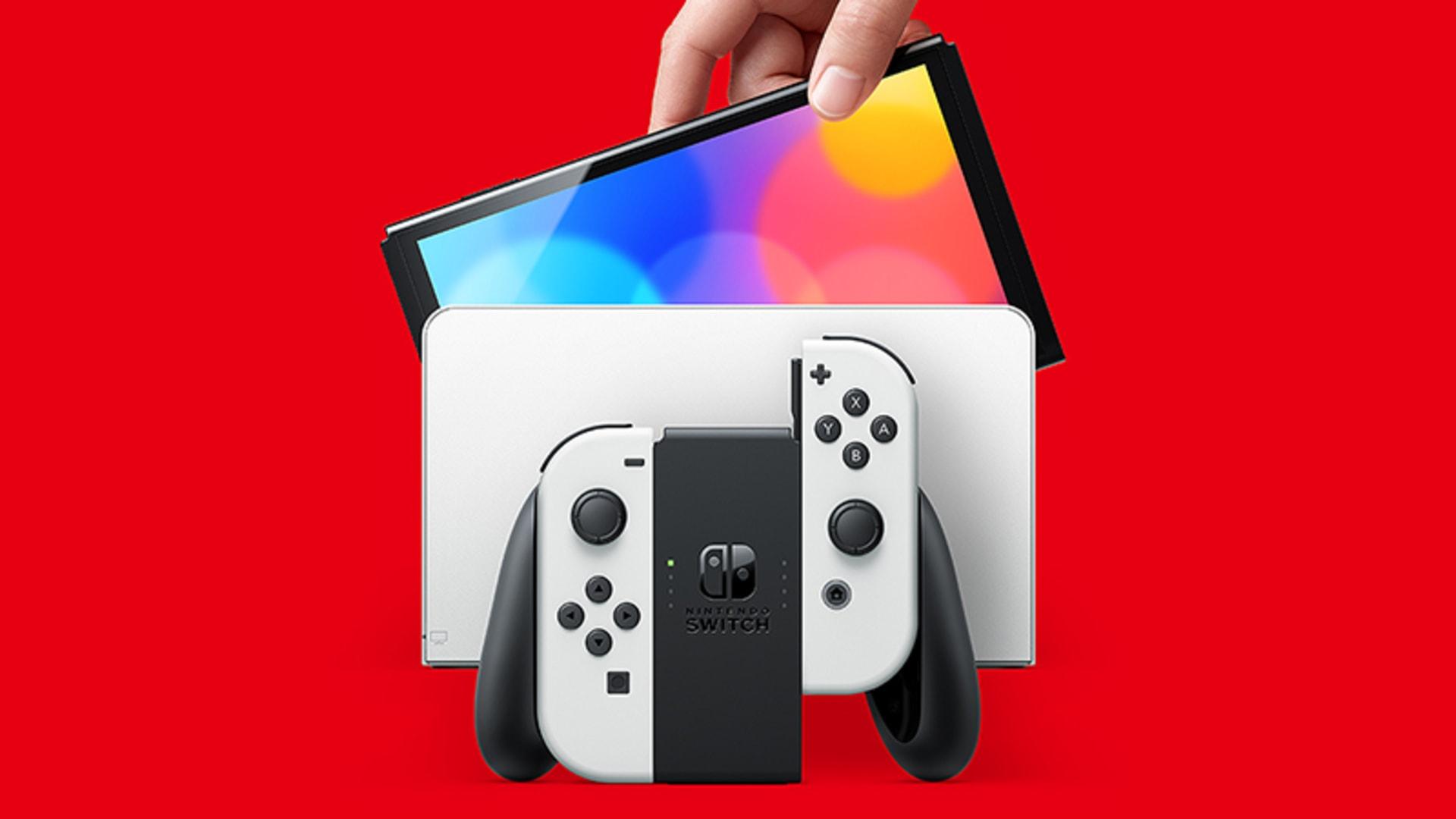 Nintendo Switch OLED معرفی شد!