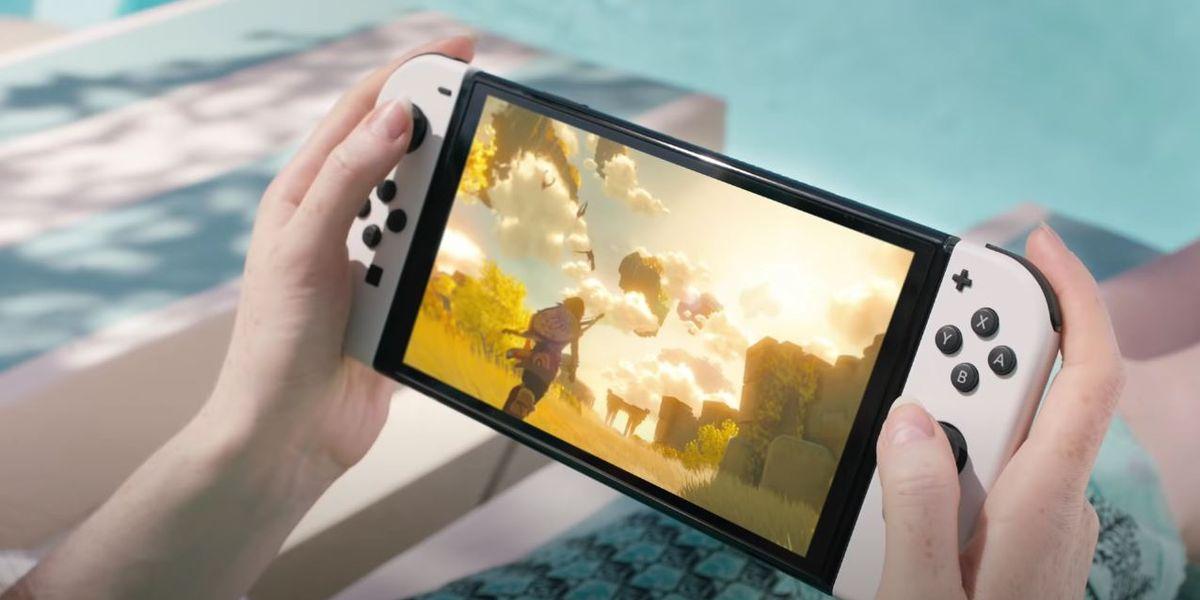 صفحه نمایش OLED 7 اینچی و تراشه سریعتر Tegra از انویدیا Nintendo Switch OLED
