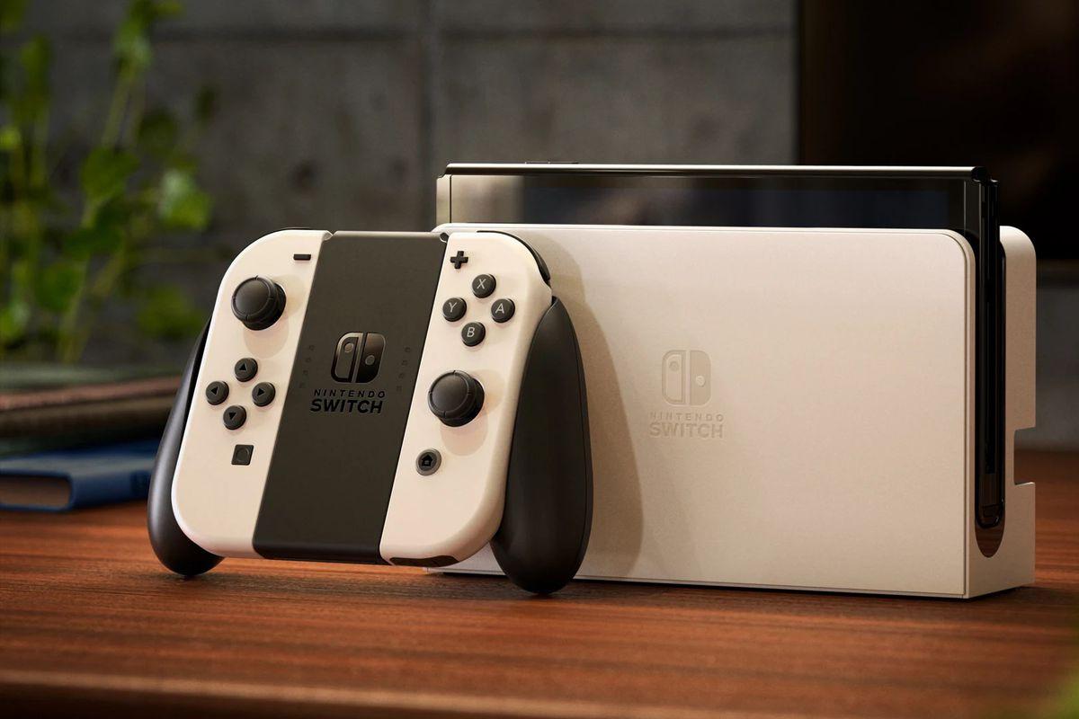 تصویر Nintendo Switch OLED