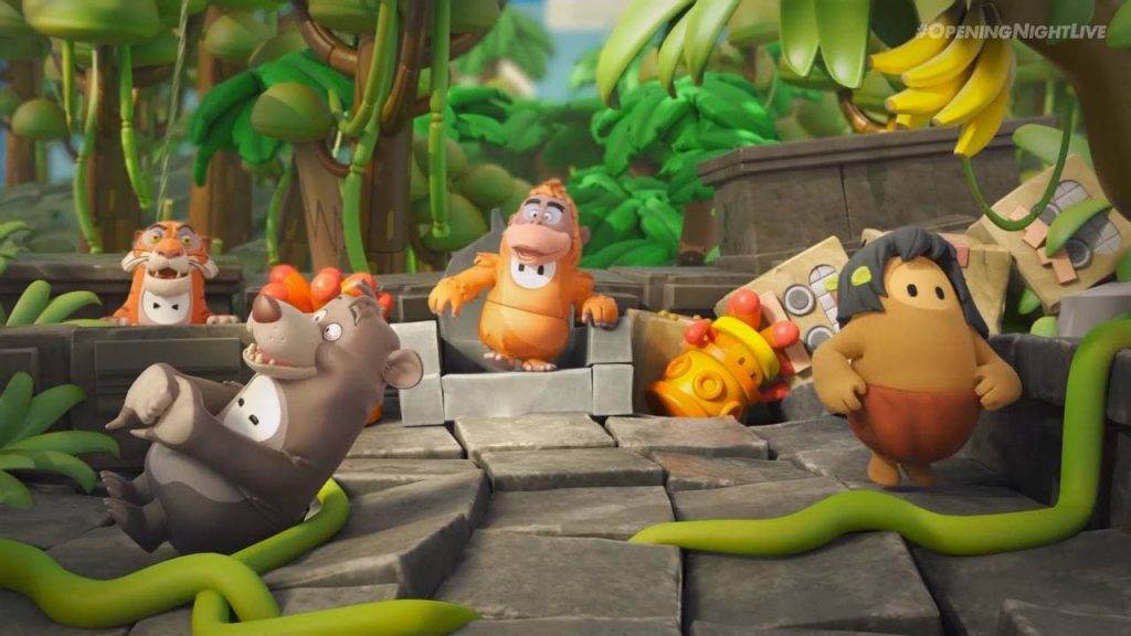 محتوای جدید بازی Fall Guys با محوریت Jungle Book
