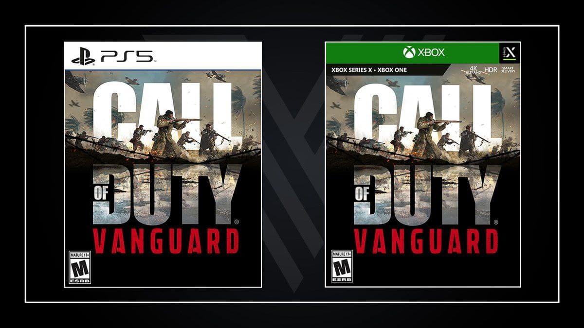 باکس آرت عنوان به شدت مورد انتظار Call Of Duty Vanguard