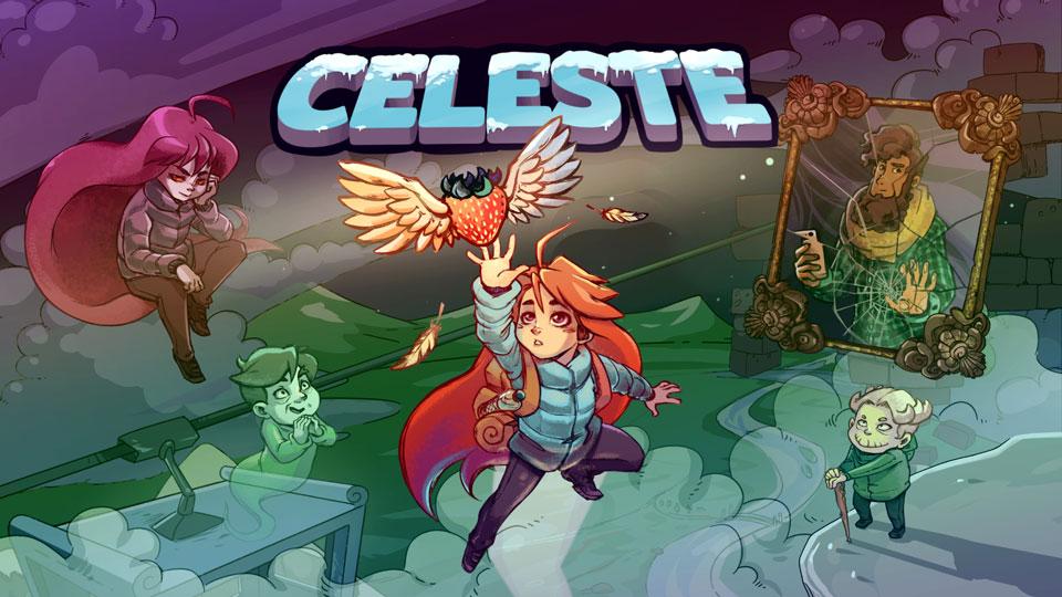 تصویر بازی Celeste از برترین بازی های PSN