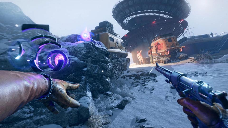 تصویر محیط بازی Deathloop