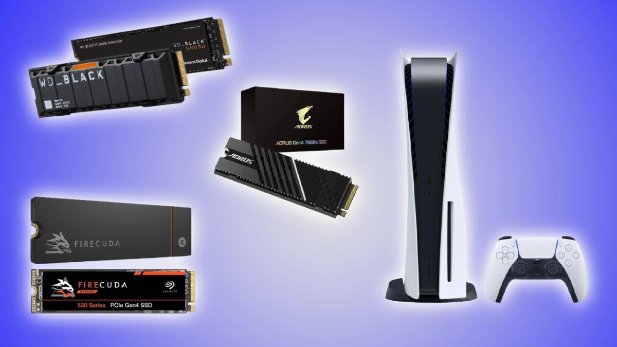 تصویر PS5 و PS5 M.2 SSD