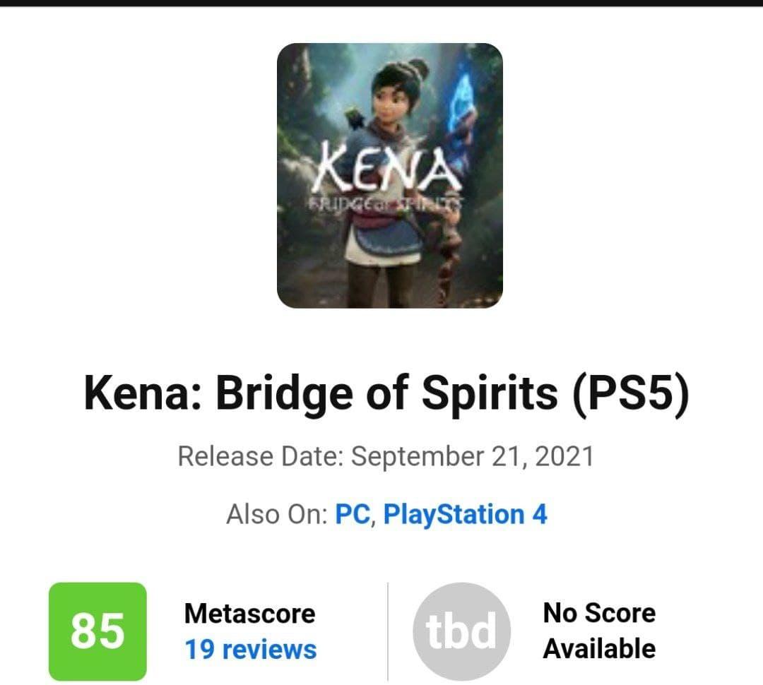 متای عنوان Kena: Bridge of Spirits اعلام شد