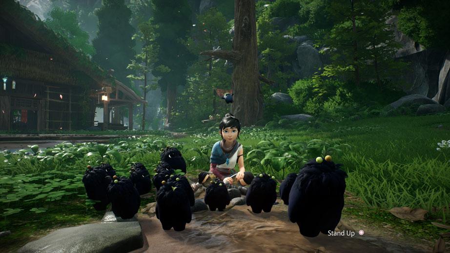 تصویری از محیط بازی Kena