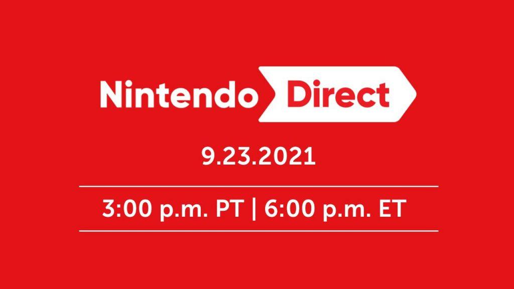 تصویر Nintendo Direct