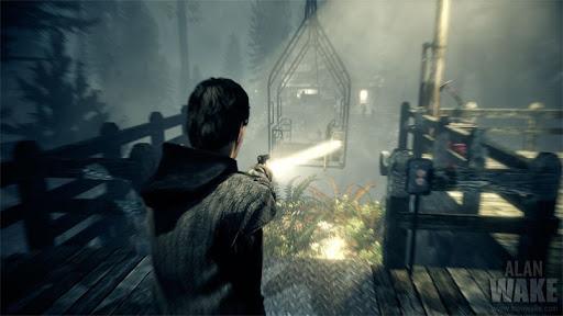 تصویری از نسخه ریمستر بازی Alan Wake
