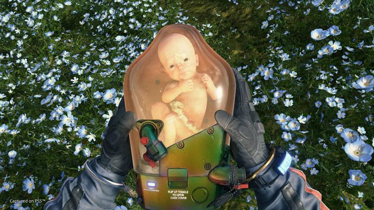 تصویر محیط بازی Death Stranding Director's Cut در PS5