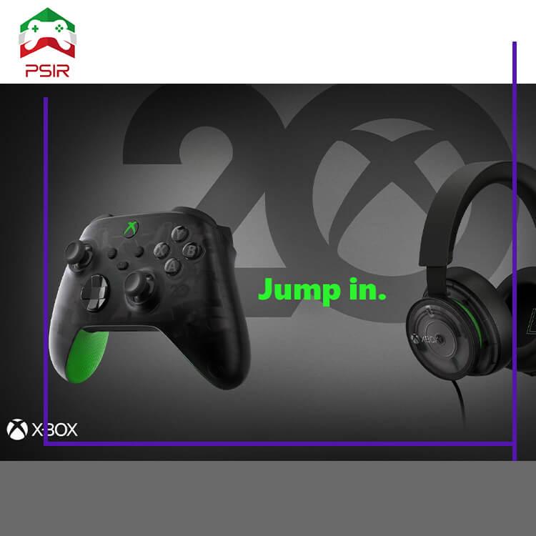 بیستمین سالگرد Xbox: معرفی کنترلر و هدست جدید و بدون معرفی بازی!