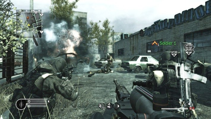 بازی های برتر ایکس باکس 360: Call of Duty 4: Modern Warfare
