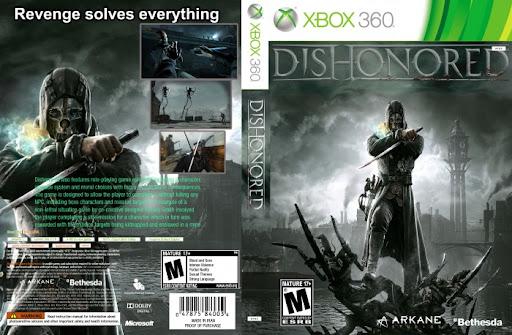 بازی Dishonored برای Xbox 360