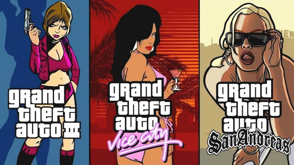 تاریخ انتشاv سه گانه Grand Theft Auto: The Trilogy