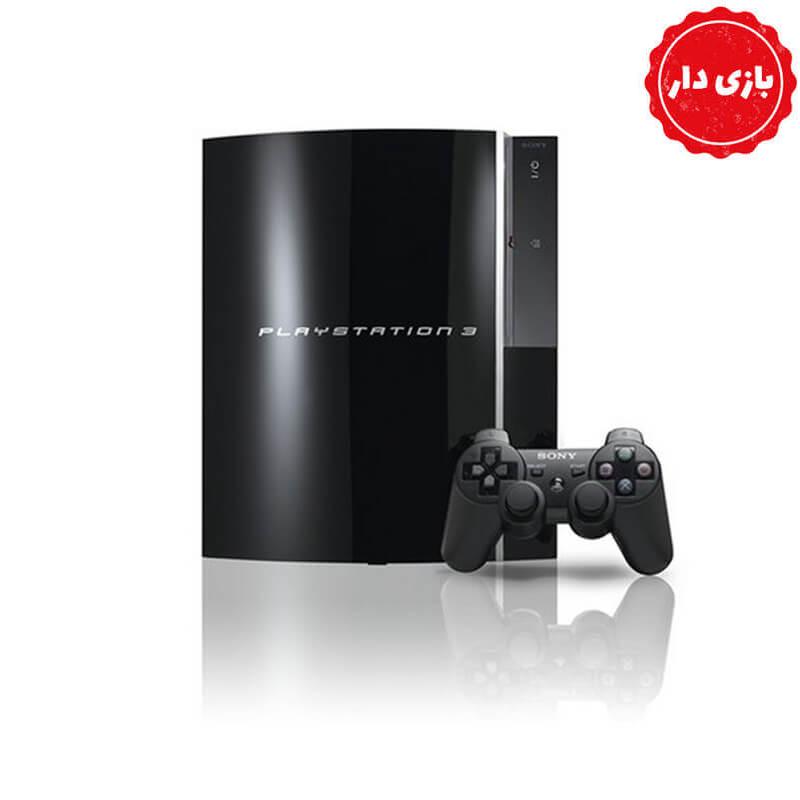 PS3 FAT حافظه 500 گیگابایت فول گیم – استوک
