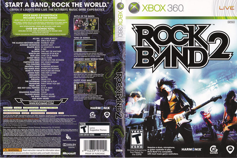 بازی Rock Band