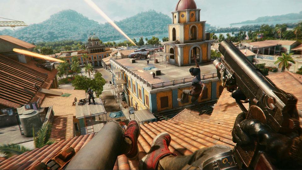 تصویر محیط بازی Far Cry 6