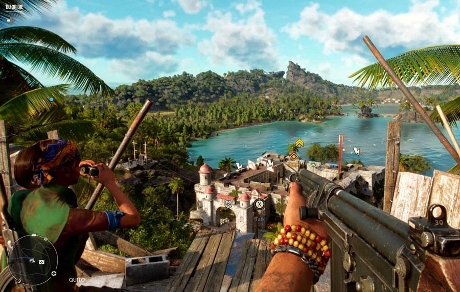 تصویر اسلحه در بازی FarCry6